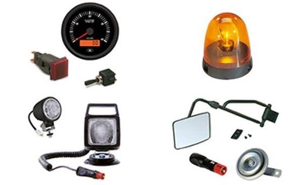 Immagine per la categoria Materiale elettrico e fanaleria