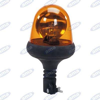 Immagine di Girofari Serie Flex con base ad asta in gomma flessibile 12 V - ama