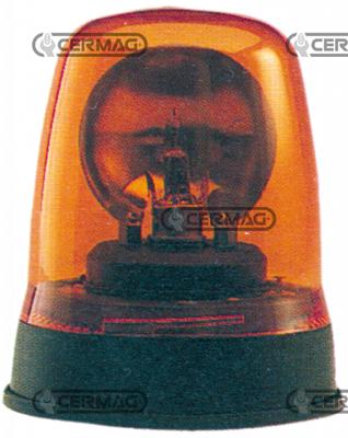 Immagine di Lampada rotante 12/24V fissaggio a 3 viti CERMAG