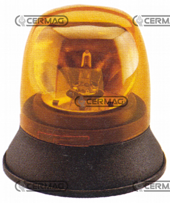 Immagine di Lampada rotante 12V fissaggio a 3 viti CERMAG