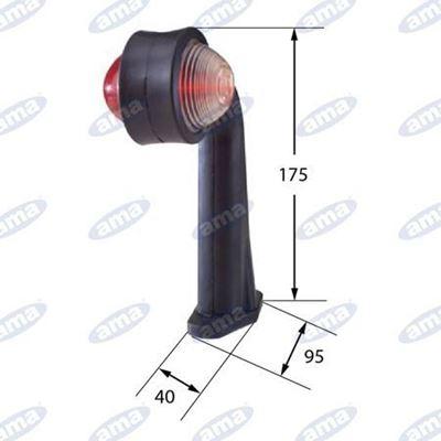 Immagine di Luce d'ingombro a LED ad angolo - AMA
