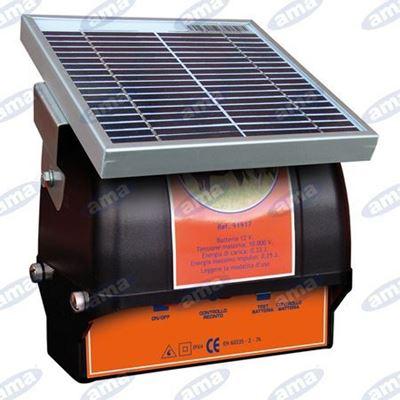 Immagine di Elettrificatore per recinti a pannello solare S250 - AMA