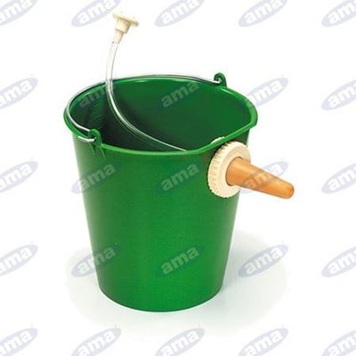 Immagine di Secchio 10 litri con poppatoio autopescante - AMA