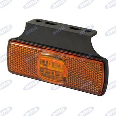 Immagine di Fanale ingombro Arancione a LED 12-30V - AMA