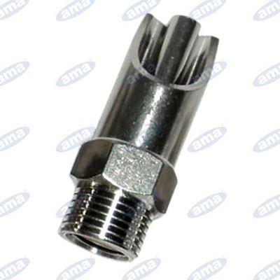 Immagine di Abbeveratoio per suini in acciaio e ottone  con diametro esterno 21mm - AMA