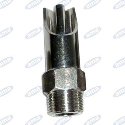 Immagine di Abbeveratoio per suini in acciaio e ottone  con diametro esterno 25mm - AMA