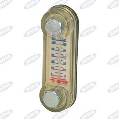Immagine di Indicatore ottico di livello L.110 con termometro - MISELLI