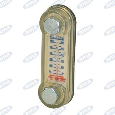Immagine di Indicatore ottico di livello L.165 con termometro - MISELLI