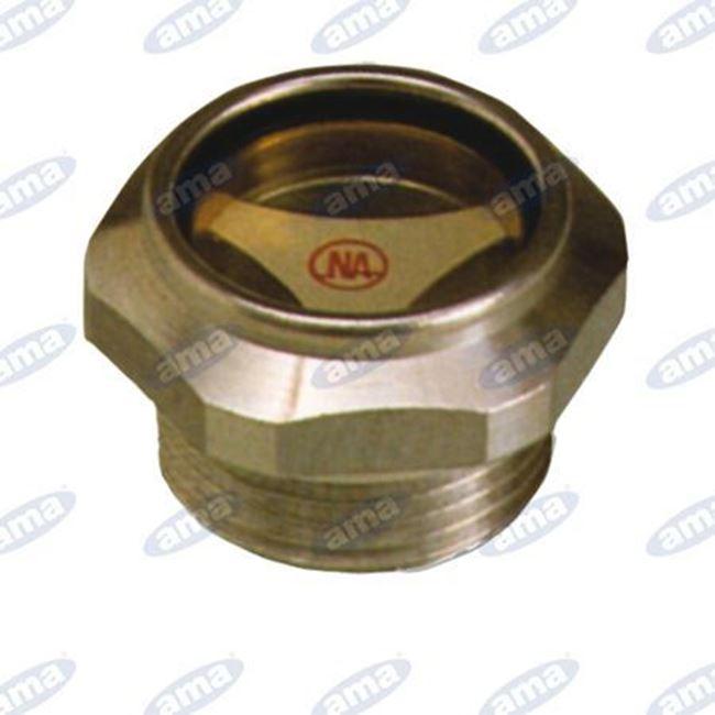"""Immagine di Spia olio in alluminio 1/4"""" - AMA"""