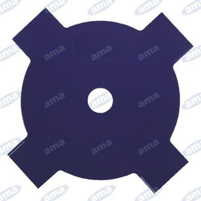 Immagine di Disco per erba a 4 denti in acciaio 255mm - AMA
