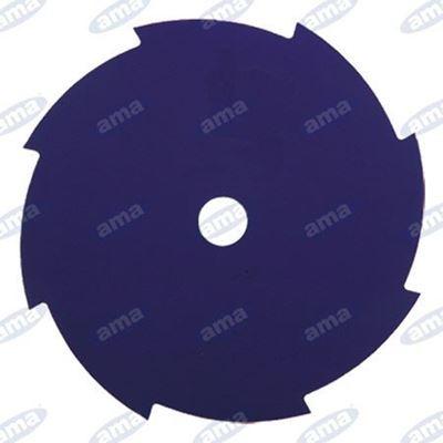 Immagine di Disco per erba a 8 denti in acciaio 230mm - AMA