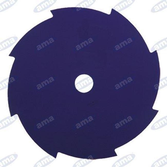 Immagine di Disco per erba a 8 denti in acciaio 255mm - AMA