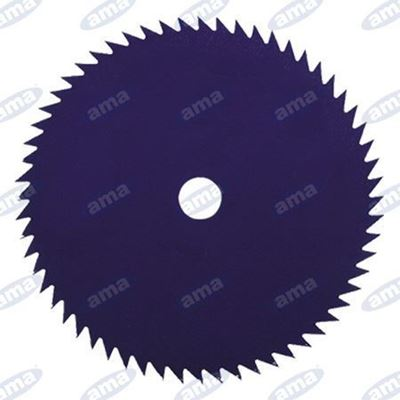 Immagine di Disco a 80  denti in acciaio per tronchetti 230mm - AMA