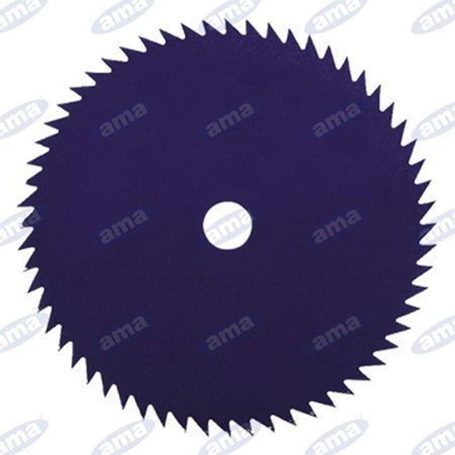 Immagine di Disco a 80  denti in acciaio per tronchetti 255mm - AMA