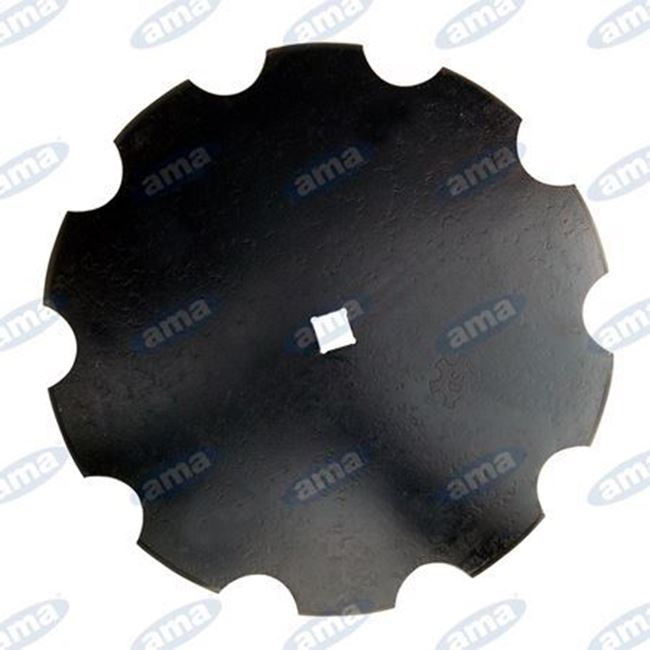 """Immagine di Disco frangizolle DENTATO Ø 460 - 18""""con foro quadrato R600 - AMA"""