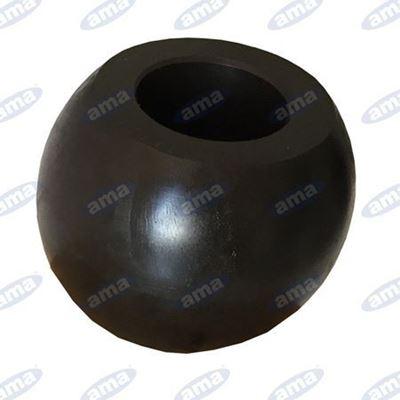 Immagine di Rotula per bracci inferiori  Ø 56X45 foro 28 BLACK LINE - AMA