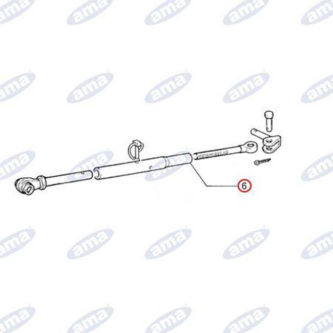 Immagine di Manicotto per stabilizzatore  filetto M27x3 adattabile FIAT  5103857 - AMA