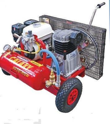 Immagine di Motocompressore carrellato Galaxy T356 HN a benzina- ZANON