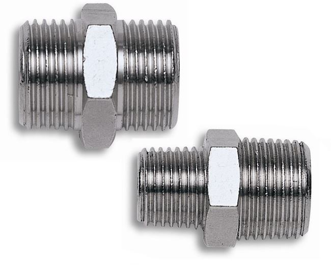 """Immagine di Nipplo cilindrico 1/4""""x 1/2"""" - COMEX"""