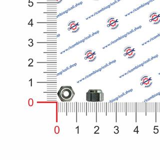 Immagine di Dado autobloccante M4 esagono