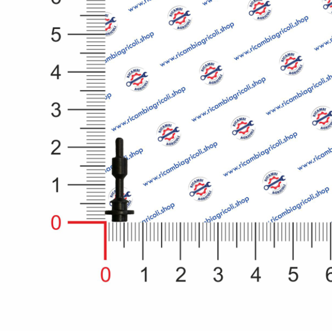 Immagine di Spillo superiore comando aria forbice - RIF. 6