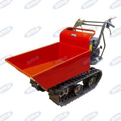 Immagine di Motocarriola cingolata Dumper AMA modello  TAG300TD