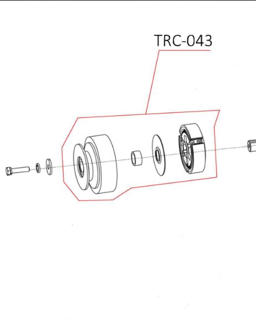 Immagine di Kit frizione completa per TAG 300/500