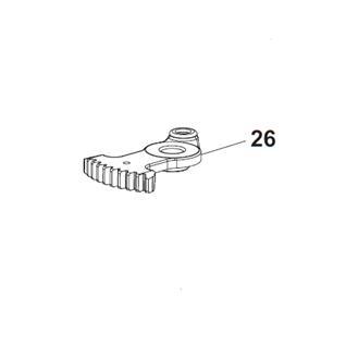 Immagine di Cremagliera per forbice ZM35 - RIF. 26