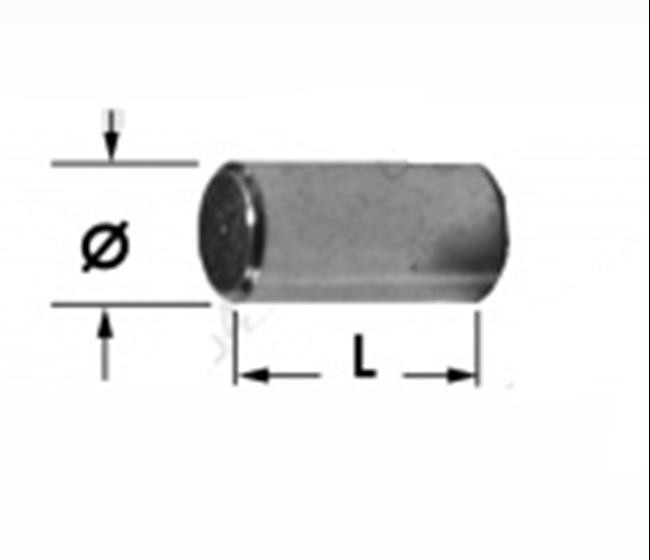 Immagine di Perno salterello Ø12 x L=26